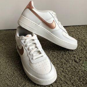 Nike Air Force 1 white/bronze 🔥 👟 🔥